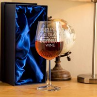 Personalised Birthday Wine Glass - 90th Birthday Gifts