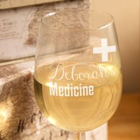 Novelty Medicine Wine Glass - Medicine Gifts