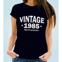Classic Vintage Year Personalised Womens T-Shirt - 40th Birthday Gifts