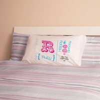Personalised 90th Birthday Letter Pillowcase For Her - 90th Birthday Gifts