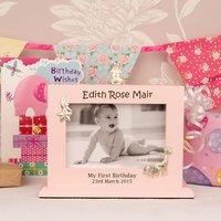Girls 1st Birthday Flip Album - 1st Birthday Gifts