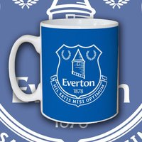 Personalised Everton 100% Emblem Mug - Everton Gifts