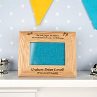 Little Fingers & Tiny Toes Christening Frame - Christening Gifts