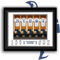 Personalised Tottenham Hotspur Dressing Room Framed Print - Tottenham Hotspur Gifts