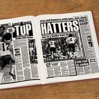 Custom Luton Town Football Club Headline Book - Custom Gifts
