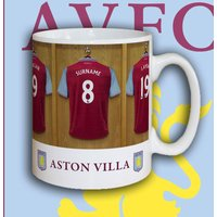 Personalised Aston Villa Dressing Room Mug - Aston Villa Gifts