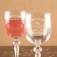 Anniversary Crystal Glassware - Forever Bespoke Gifts