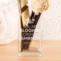Bloomin Gorgeous Unique Glass Vase - Valentines Day Gifts