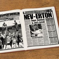 Personalised Everton Football Club Headline Book - Everton Gifts