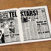 Custom Tottenham Hotspur Football Club Headline Book - Custom Gifts