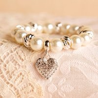 Presentation Boxed Pearl Bracelet - 100th Birthday Gifts