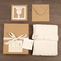 Blanket & Greeting Card Set - Blanket Gifts