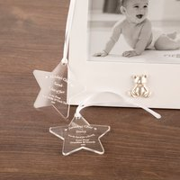 Bespoke Gift Boxed Baby Born On Day Of The Week Star - Baby Born Gifts