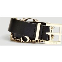 Guess Belt With Logo Chain