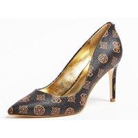 Bennie Logo-print Court Shoes