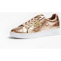 Banq Laminated-look Sneakers