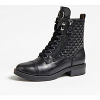 Begonia Leather Combat Boot