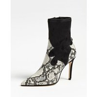 Bayley Suede Python Ankle Boot