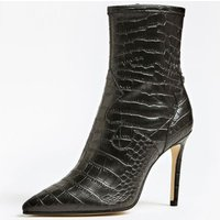 Bayley Croc Print Ankle Boot