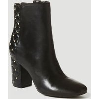 Guess Arron Leather Low Boot With Studs