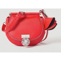 Guess Glory Leather Saddlebag