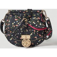 Guess Glory Floral Leather Saddlebag