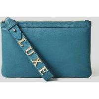 Guess Margot Maxi Logo Leather Pochette