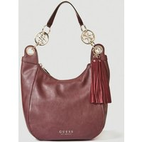 Guess Alana Shoulder Bag With Charm
