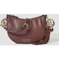 Guess Alana Crossbody Bag With Charm