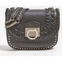 Hippie Lux Crossbody Bag With Logo And Studs