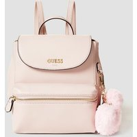 Guess Backpack With Pompom Charm