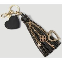 Guess Keyring With Tassel Charm