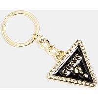 Guess Triangle Logo Keyring
