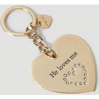 Guess Heart Keyring