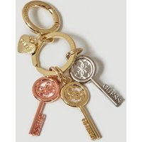 Guess Keyring With Key Charms