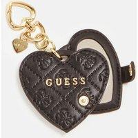 Guess Heart-shaped Envelope Charm Keyring