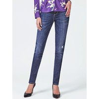 Guess Abrasion Detail Skinny Jeans