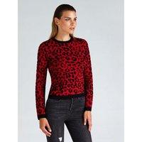 Guess Animal Print Sweater