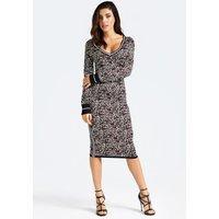 Animalier Print Dress