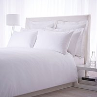 Luxury Hotel Collection 500TC single extra deep fitted sheet pair white, White