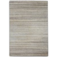 Plantation Rug Co. Simply Natural 100 Wool Rug - 70x240 Grey Stripe, Grey