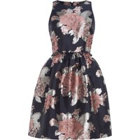 Tahari ASL Floral Blooms Fiat And Flare Dress, Multi-Coloured