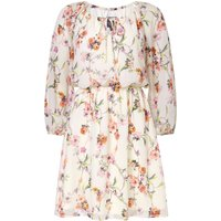 Adrianna Papell Bontia Oasis Floral Dress, Multi-Coloured