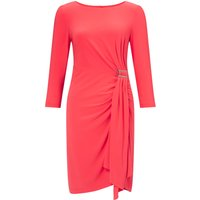 Adrianna Papell Three quarter sleeve dress, Pink - Seek Gifts
