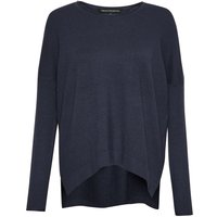 French Connection Viva Vhari Round Neck Jumper, Blue
