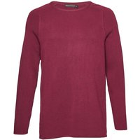 Men's French Connection Lakra Knit Crew Neck Jumper, Red