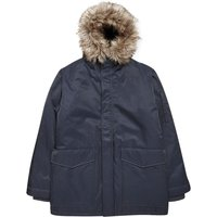 Men's French Connection Bystander Nylon Parka Jacket, Blue