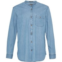 Men's French Connection The Three Ages of Denim Grandad Shirt, Bleach