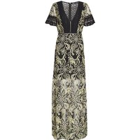 French Connection Joyce Lace Maxi Dress, Green