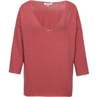 Great Plains Kitten Play V Neck Slouchy Top, Pink